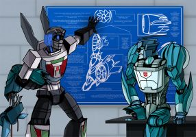 Wheeljack's Fixit by Shy-Light