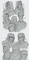 TESV: NPC bunch by audelade