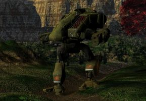 Mechwarrior Vulture by VadenKwinn