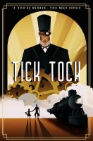 TICK TOCK movie poster by rodolforever
