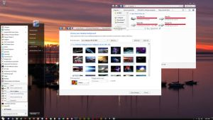 EverplexBorderless Premium Windows 7 Theme (Free) by everplex