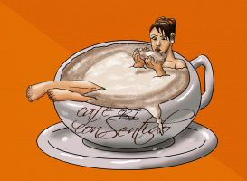 CAFE CON AROMA DE MUJER by Luber-Lord