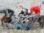 Bionicle MOCs - December 2010 by Rahiden