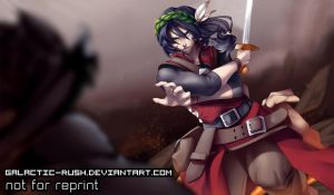 Commission #13: Dante by Galactic-Rush