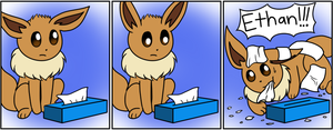 The Eevee Army #27: Tissue Box by HappyNinjaPichu