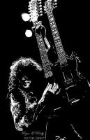Jimmy Page Double Neck Guitar by ryanoreilly