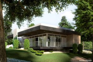 Contemporary House -other view by biz-kong
