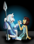 A First Encounter - Undertale Atlantis by sonicgirl313