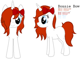 Pony Adopt - Bonnie Bow by xPixels-Puff-Adoptsx