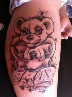 New School Teddy by state-of-art-tattoo