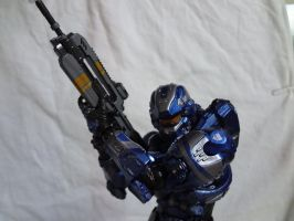 Halo 4 Spartan Warrior 8-9inch tall action figure by shadowghost09