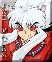 Full Demon InuYasha-mouseart by akitohedgehog