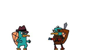 Perry-1D meets Perry-2D (RedJoey1992) by RocketSonic