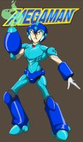 Mega Man Colored by Tyrranux