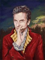 Capaldi as Doctor Who by ObsidianSerpent