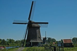Windmills near Alkmaar_007 by BlokkStox