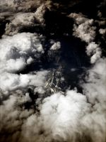 View from Plane by lisoslyphem