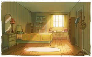 Lara's room by breebird