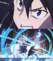 Sword Art Online: Kirito's Star Burst Stream by Deadpool790