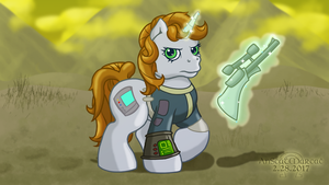 Littlepip in G3 (Commission) by AnScathMarcach