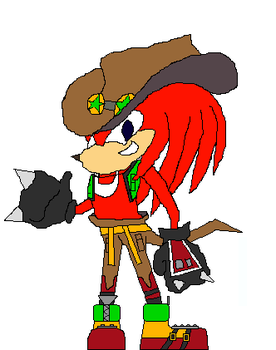 Redesign: Knuckles by LarrydaLaptop