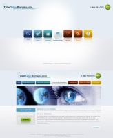 Web 2.0 Template by princepal by WebMagic