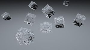 Simple Ice Cubes by 100SeedlessPenguins