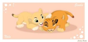 Simba and Nala by Carly707