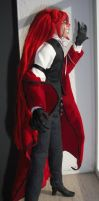 Grell doll side view by Saya1984