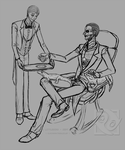 Tumblr's Scribbles: Fergie and Baron by PiuPiu-Littlebird