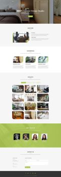 Nest - Free Interior Design HTML Template by templatewire