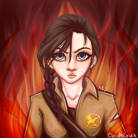 - Girl On Fire - by Cloudnixus
