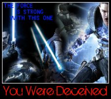 The Force Unleashed 2:decieved by Melciah1791