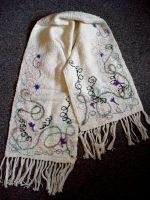 untitled scarf by SketchesFromFoxy
