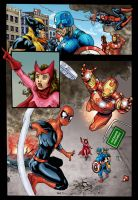 Avengers page sample by sonicboom35