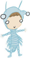 Chris the Sea Monkey by ApatheticThoughts