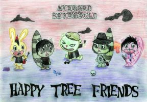 Happy Tree Friends A7X by dlgksgml-9012