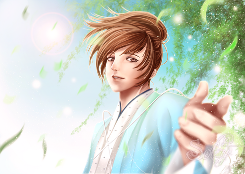 My shining wind by Solchan