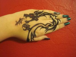 The Girl with the Dragon Tattoo by hotgoth44x