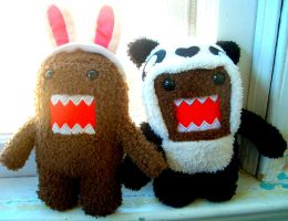Domo Buddies 2 by CelesteCorinne