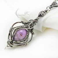 TAMALTIEEN Silver and Amethyst by LUNARIEEN