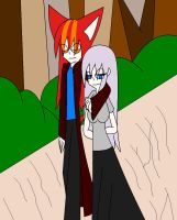 A walk in the park by camilleartist132