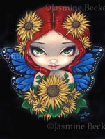 Sunflower Fairy by jasminetoad
