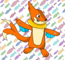 Buizel OC Request by enyce122
