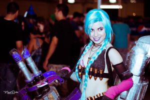 Jinx Cosplay by Nina by DraconPhotography
