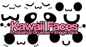 KAWAii FACE BRUSHES by xlilbabydragonx