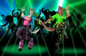 Wolf Rave by TwoTigerMoon