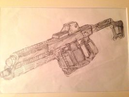 Kriss Super V 'Defiant' Security Rifle by HaruAxeman