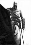Altair's Drawing (Assassin's Creed) by DesignerMF