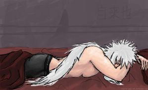 Jiraiya sleeping by synyster-gates-A7X